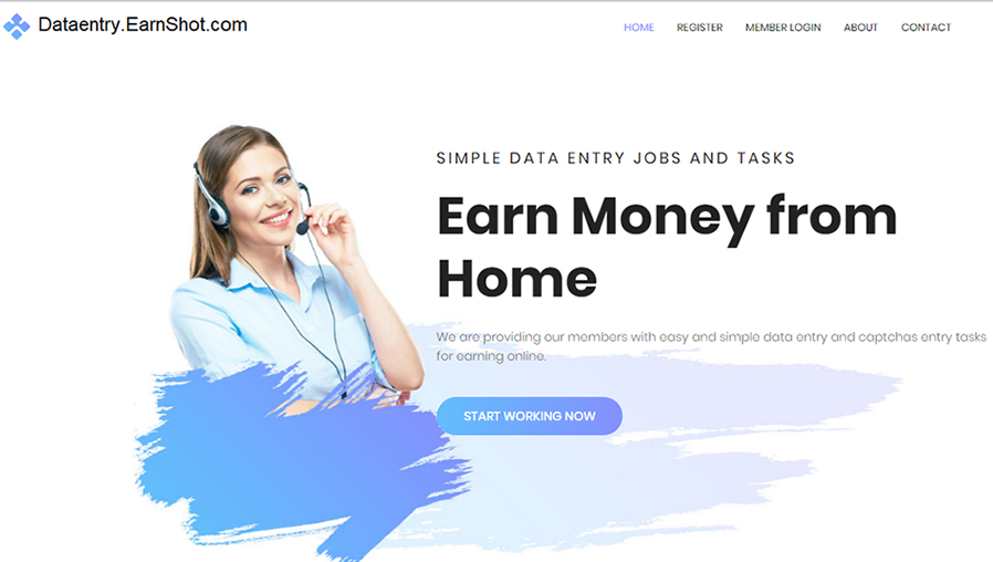 DataEntry.EarnShot-website