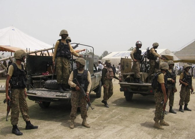Terrorist attack on security forces in North Waziristan, 2 killed
