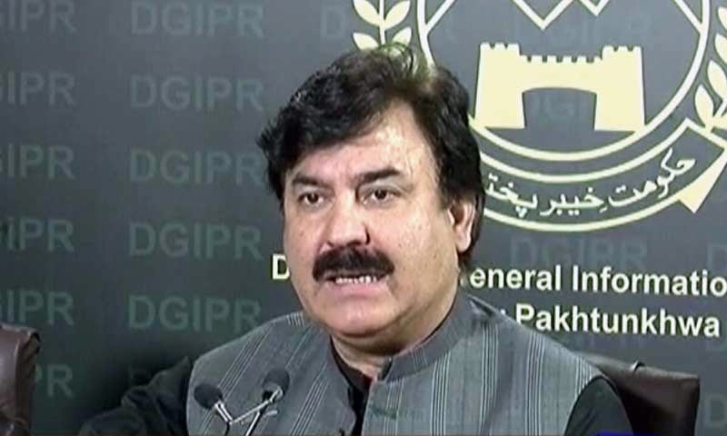 No one is beyond law, says Shaukat Ali KP information minister
