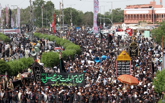 Youm-e-Ali celebrated across Pakistan under strict security