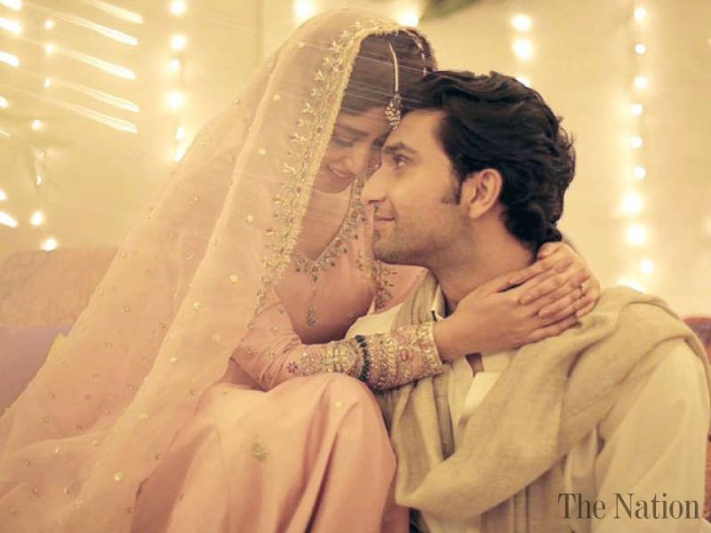 Ahad Raza Mir and Sajal Ali engaged
