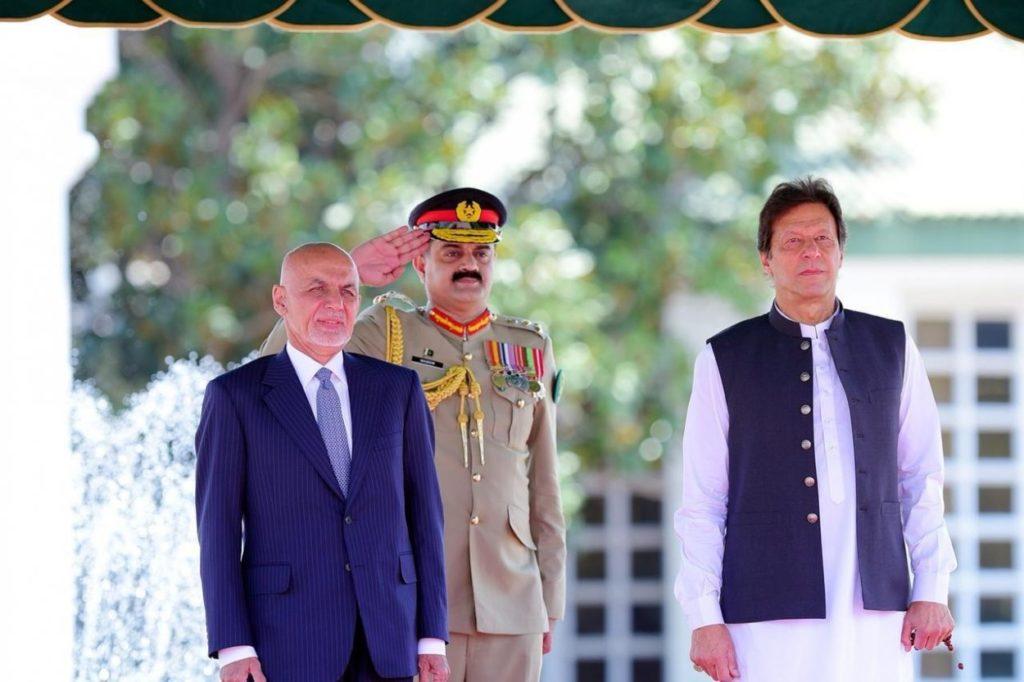 Afghan President Ghani visits Pakistan