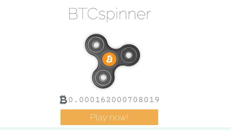 BTC Spinner