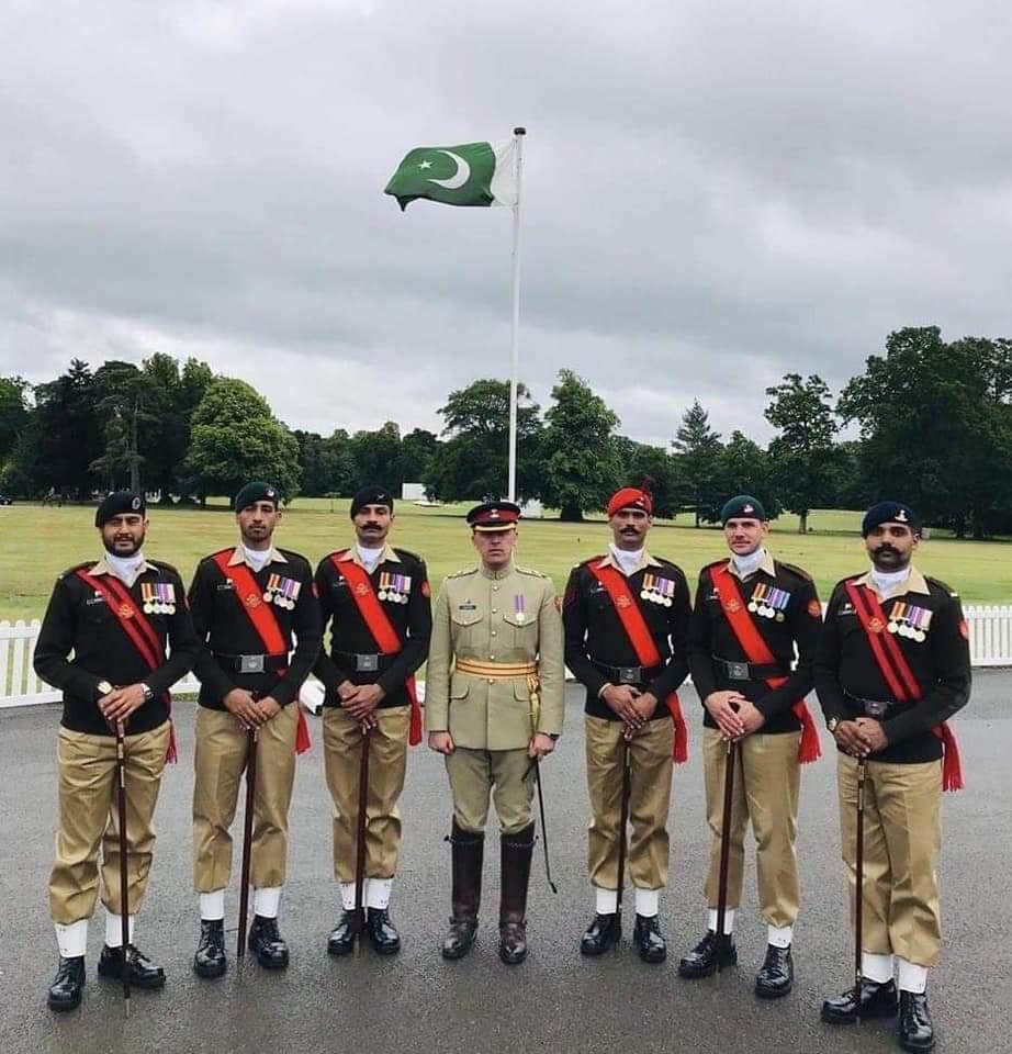 Pak Army won Pace Sticking competition