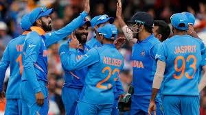 India beats Australia in world cup match
