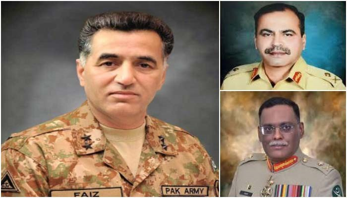Transfers of officers announced by Pak Army