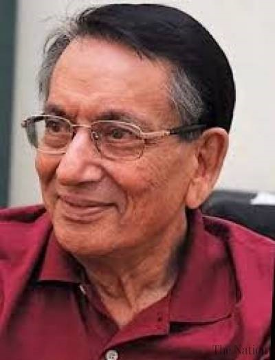Renowned play writer Dr. Anwar laid to rest in Lahore