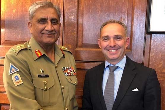 COAS meets UK Security Advisor in London, peace under discussion