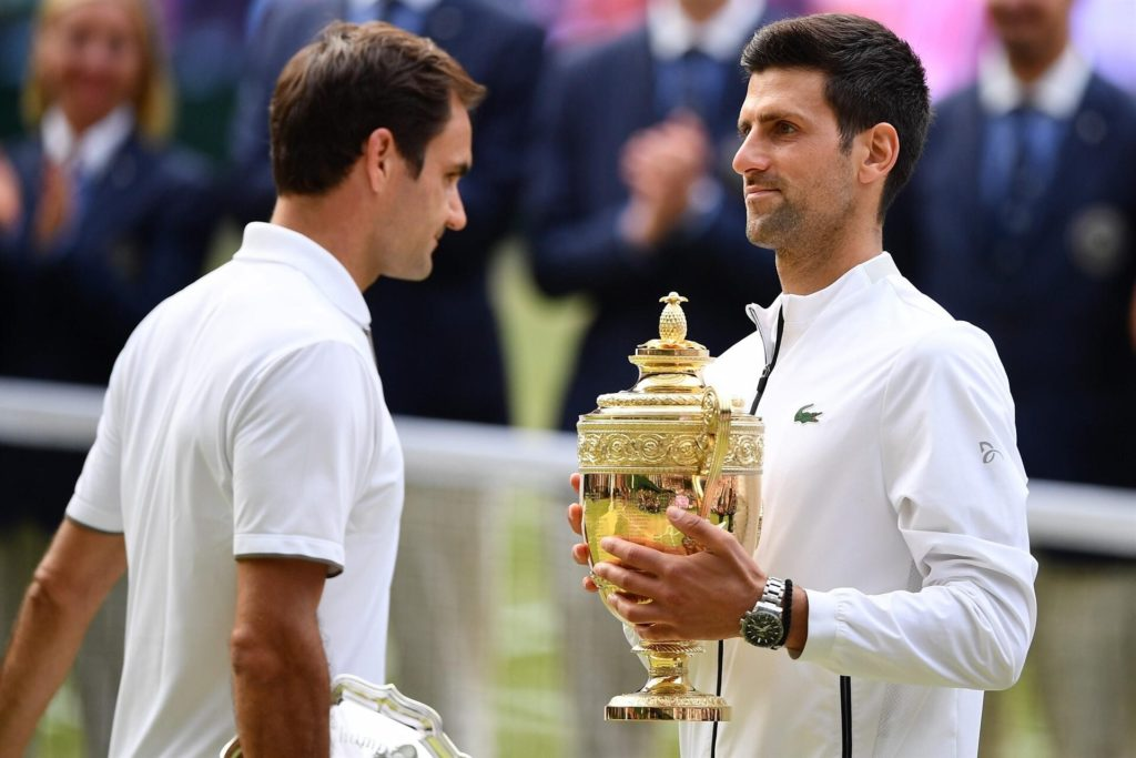 Djokovic grabs the fifth Wimbledon tennis trophy