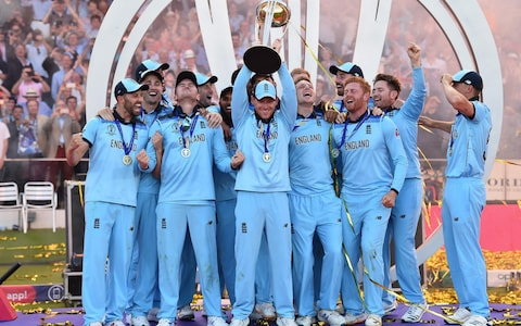 England wins the world cup 2019 cricket final