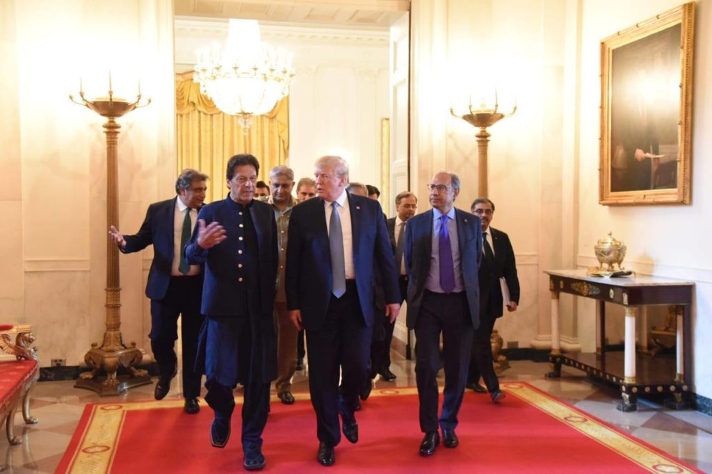 Imran Khan meeting Donald Trump