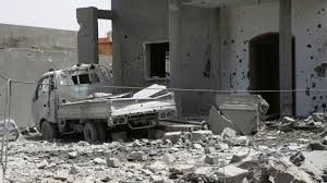 Libya car bomb explosion