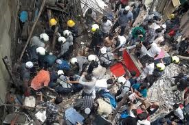Four storey building collapses in Mumbai killing four, dozens trapped