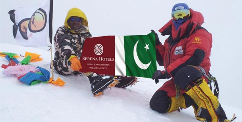 Pakistani mountaineer Sirbaz successes in climbing 12th highest mountain