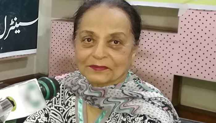 TV Actress Zaheen Tahira passes away