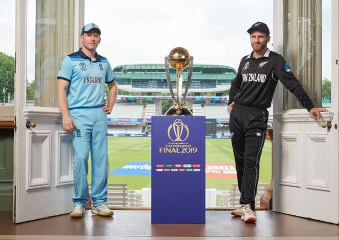 New Zealand vs. England in Cricket World Cup final 2019