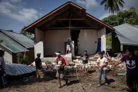 6.9 magnitude earth quake hits Indonesia