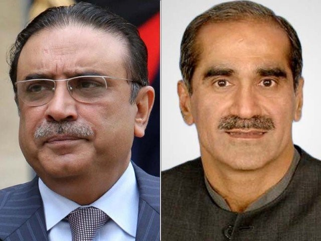 Zardari and Saad Rafique get production orders for NA session