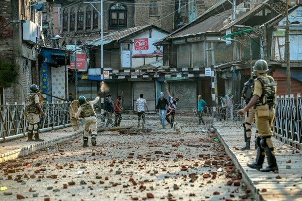 Kashmir under lock down - Amnesty International raises questions