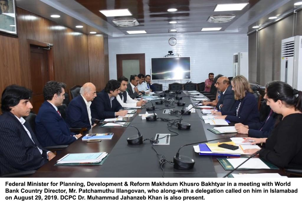 World Bank officials meet in Pakistan for projects worth $1.5billion