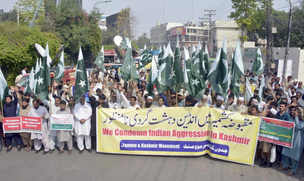 Countrywide protests erupt against Indian atrocities in held Kashmir