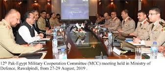 12th Pak-Egypt Military Cooperation Committee held in Rawalpindi