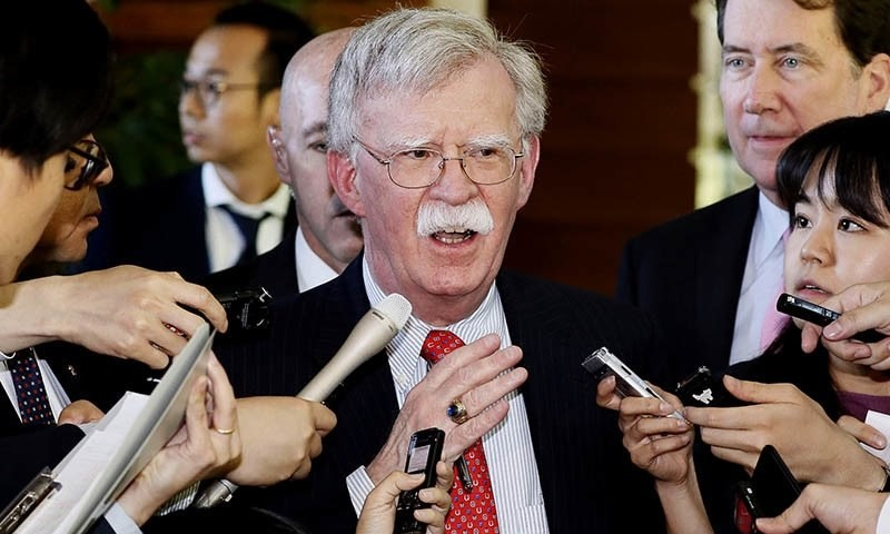 US Security Chief John Bolton fired by Trump