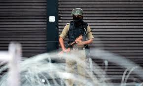 Lockdown in disputed Kashmir, hundreds injured