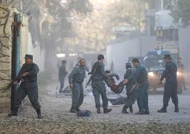 Blast in Kabul kills 16, more than 100 wounded