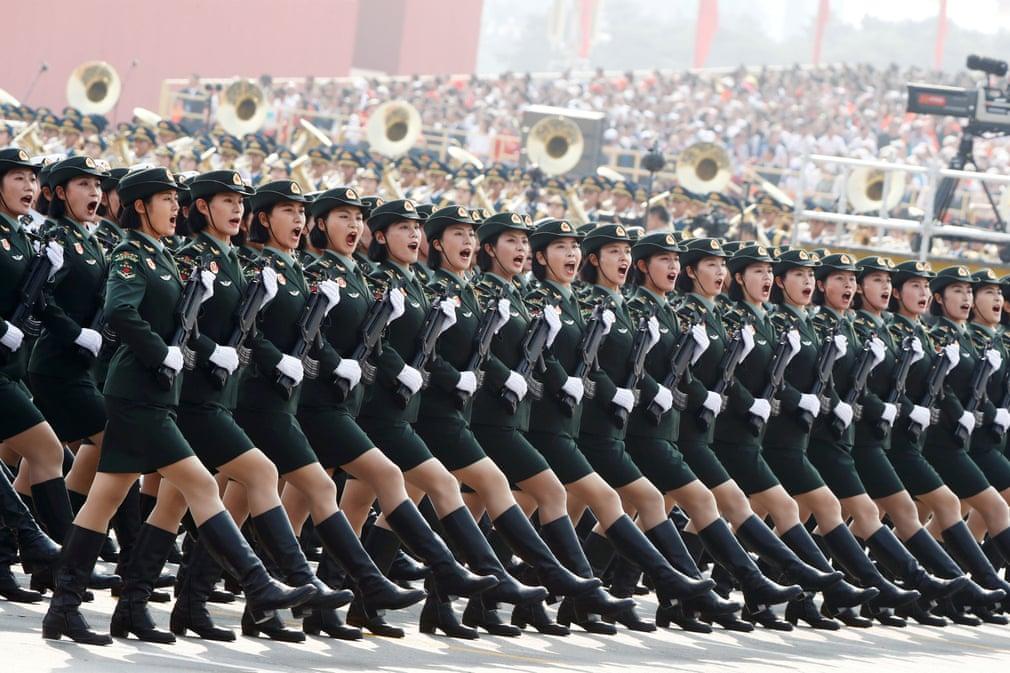 China celebrates 70years