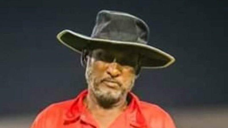 Cricket Umprire Naseem Shaikh dies of a heart attack during a match