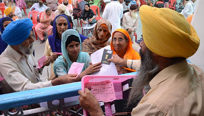 550th birth anniversary of Baba Guru Nanak, Sikh pilgrims arrive in Pakistan