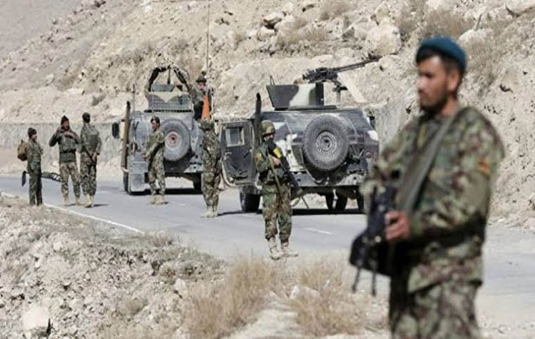 Six killed in roadside mine blast, 26 killed in security forces operation in Afghanistan