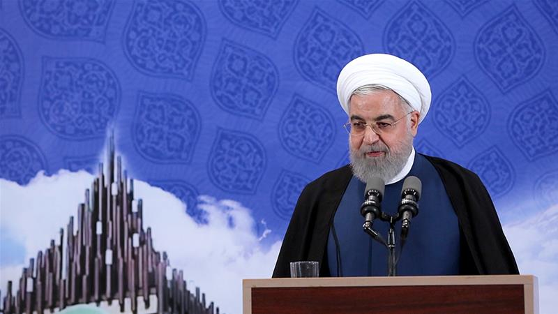 Rohani announces step back from nuclear deal commitments
