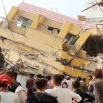 Six-storey building collapsed in Karachi's Timber Market