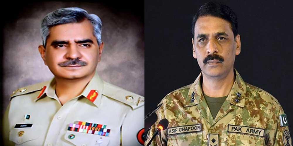 New DG ISPR Major General Babar Iftikhar takes charge