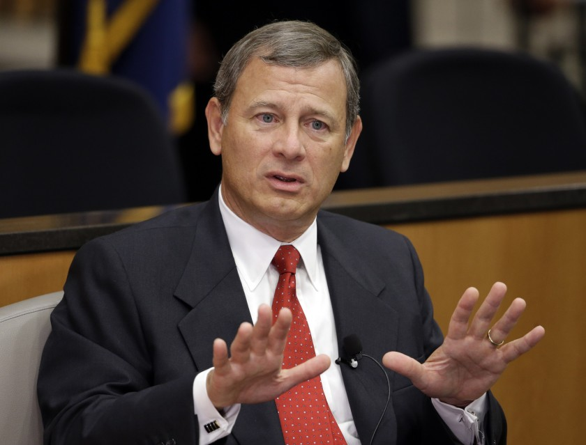 Chief Justice John Roberts warns about dangers of fake news