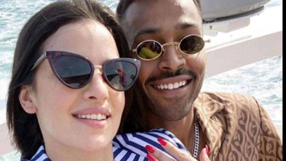 Hardik Pandya announces engagement with Serbian actress Natasa Stankovic