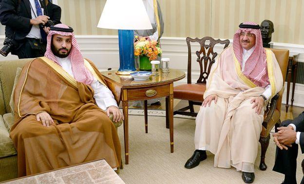 Three Princes jailed in Saudia