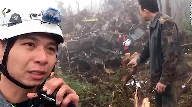 Helicopter crash in Taiwan kills nine including Military Chief