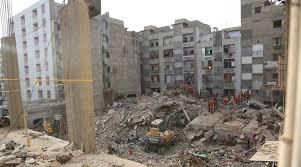 Building collapse in Lyari, twenty killed