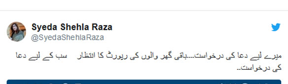 PPP leader Shehla Raza tests positive for COVID-19