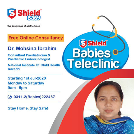 Shield Babies Tele Clinic Free Pediatric consultation for your child