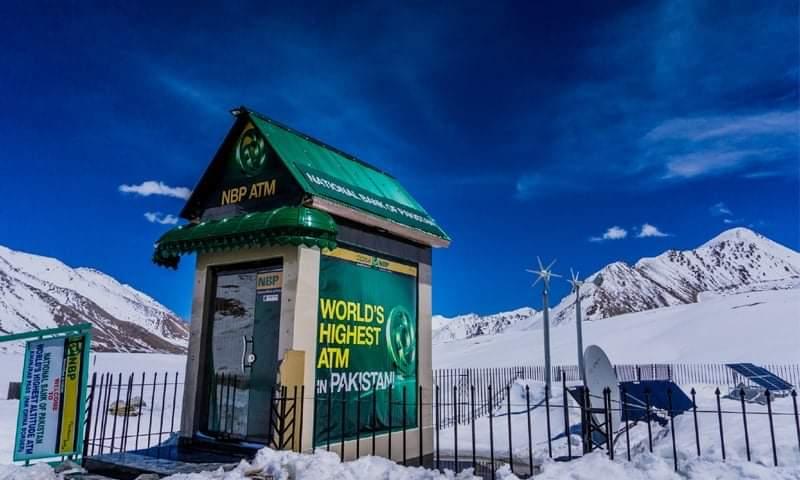 World's highest ATM
