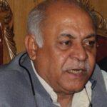 Senator Mir Hasil Khan Bizenjo dies at age of sixty two